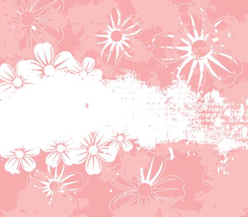 花朵质感装饰花纹-淘特网--http://www.tot.name
