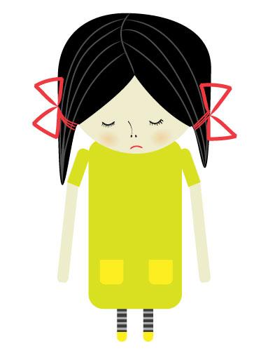 淘特网 矢量图素材 卡通人物 ->悲伤的小女孩  | 虚拟主机 | 业界新闻