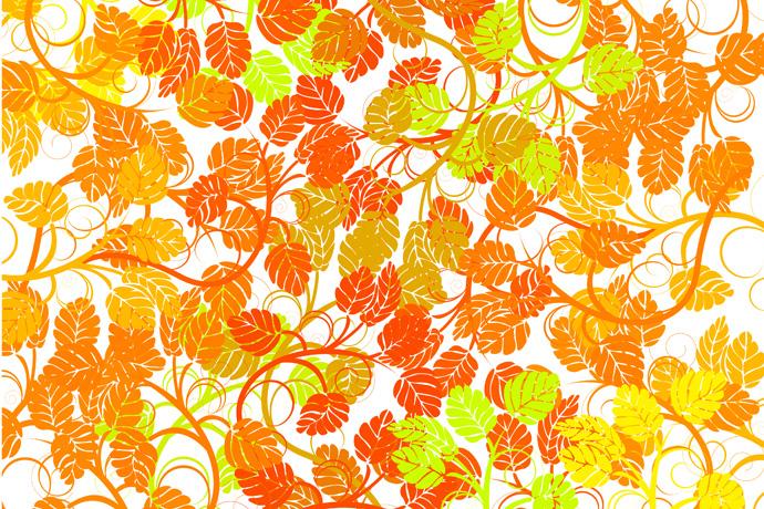 彩色花纹素材