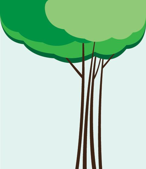 淘特网 矢量图素材 树木 ->云树  | 虚拟主机 | 业界新闻 | 建站指南