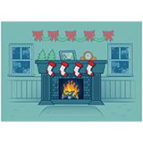 2017圣诞节火炉