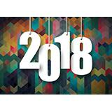 2018新年矢量图